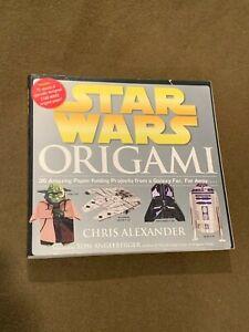 Star-Wars-Origami-by-Chris-Alexander-Large-Softback-Book-NICE