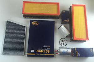 FILTRO-DE-ACEITE-AIRE-Carbon-Activado-combustible-SCT-GERMANY-W203-S203-CL203
