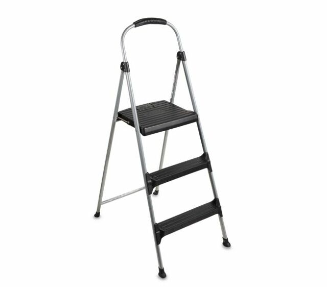 New Lightweight 3 Step Folding Step Stool For Home