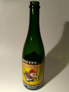 Beer-Bottle-CHOUFFE-EMPTY-Belgium-double-IPA-triple-12-034-tall-silk-screen