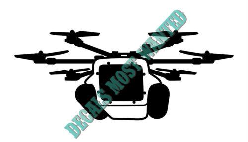 HexH20 UAV Drone Decal car window die cut vinyl