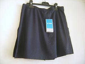 Détails sur Jupe short de tennis JAKO bleu marine taille L neuve+étiquette