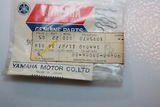 3 NOS Yamaha snowmobile MOTORCYCLE OIL PUMP CABLE CLIPS 90468-08086 VMAX-4 VMAX