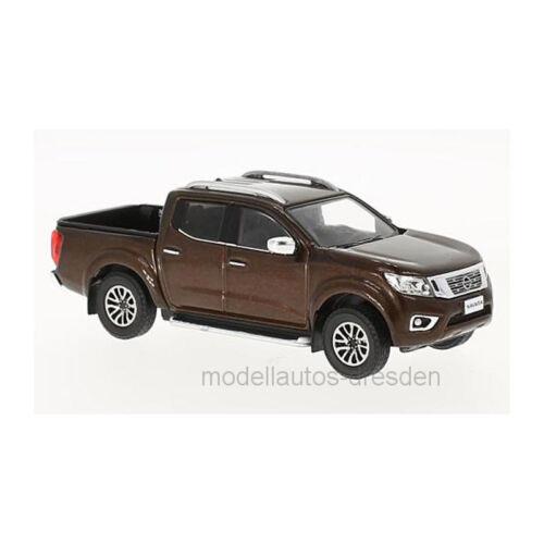 PremiumX prxd593 NISSAN NAVARA marrone metallizzato scala 1:43 modello di auto NUOVO °