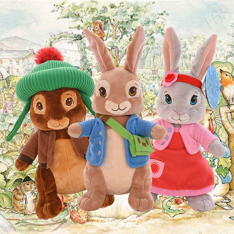 New Cute Peter Rabbit Beatrix Potter Plush Toys Collection Xmas Baby gifts 30CM