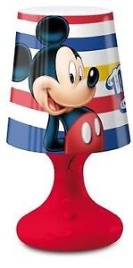 Mickey-Mouse-Spots-mini-DEL-Bedroom-Night-Light-Red-Home-Collection
