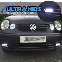 VW volkswagen COB LED Daytime Running Lights DRL 12v 3 LED 9CM