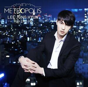 LEE JONG HYUN (from CNBLUE) METROPOLIS CD DVD Limited Edition JAPAN