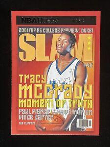 2020 - 21 NBA Hoops Tracy McGrady Slam Cover #15 Orlando Magic