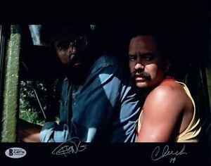 Cheech-Marin-Tommy-Chong-Signed-Autograph-8x10-Photo-Up-In-Smoke-BAS-Beckett-COA