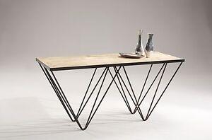 Scrivania consolle arredo studio in legno vintage for Scrivania arredo