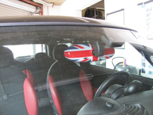 INNENSPIEGEL UNION JACK 3 Farbig für MINI ONE COOPER R55  R56 R57 Cabrio R60 R61