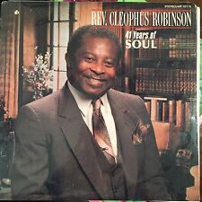 SEALED - REV CLEOPHUS ROBINSON-41 YEARS OF SOUL NEW SEALED  LP AIR 10115