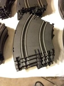 Artin 1/43 slot car curve Track Lot Of 10 Pieces Pre Owned
