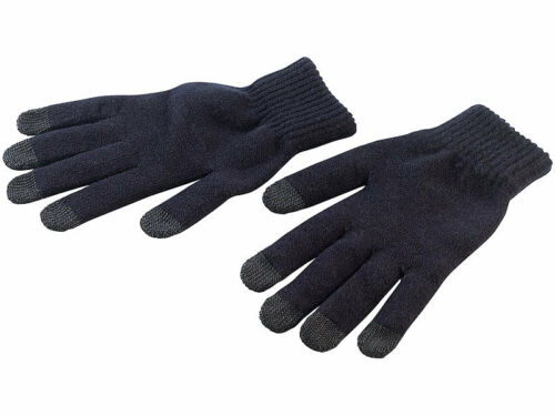Handschuh Touch Strick-Handschuhe mit 5 Touchscreen-Fingerkuppen Gr M