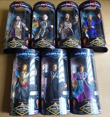 "Multi-Liste de sélection de 9/"" /""Babylon 5/"" Figurines Neuf//Non Ouvert 1997"