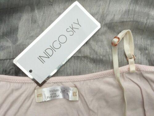 size 8 10 12 14 16 18 20 22 ladies pretty play suit pyjamas sleepwear Baby pink