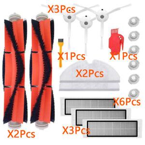 2X Seitenbürste 2x Filter für 360 S6 Roborock Staubsaugroboter Ersatzteile Neu
