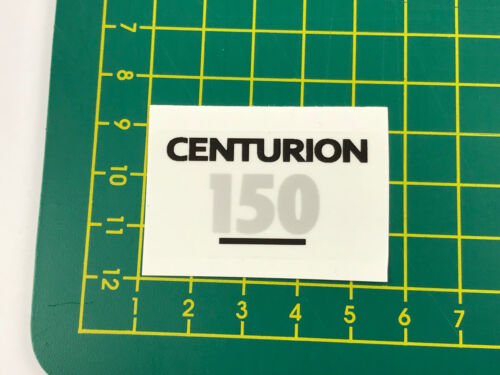 old school bmx decals stickers centurion helmet decal silver and black on clear