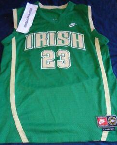 LeBron James St Mary Irish High School Basketball Jerseys 3XL S Vincent St