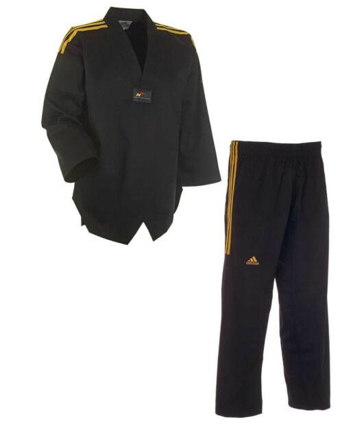 adidas Taekwondoanzug ADI CHAMPION COLOUR schwarz Dobok