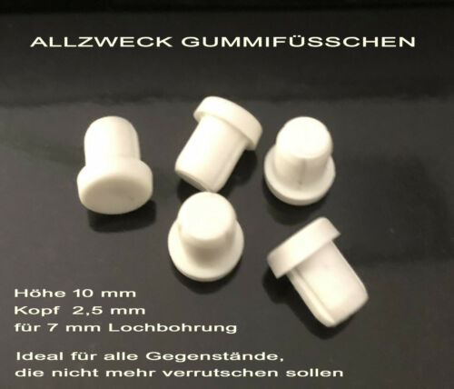 Gummifüsschen Allzweckfüsschen NEU Möbelstopper,Großpackungen ! Hemmfüsschen