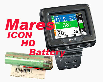 Mares ICON HD Net Ready REPLACEMENT Lithium Battery dive ...
