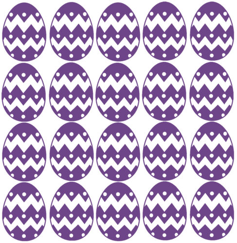 Wall Mirror Window Crafting 20 x Easter Egg stickers Scrapbooking Cardmaking