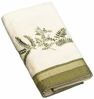 Avanti Linens Greenwood Hand Towel, Ivory, 1 Piece, New, Free Shipping on sale