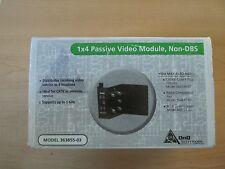 Non-DBS 2GHz 364647-11 NIB NIB OnQ Technologies 1x4 Passive Video