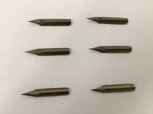 CompéTent Vintage Joseph Gillotts Public Pen 292 Nibs X 6 Apparence Attractive