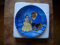 Bradford Exchange Plate beauty And The Beast