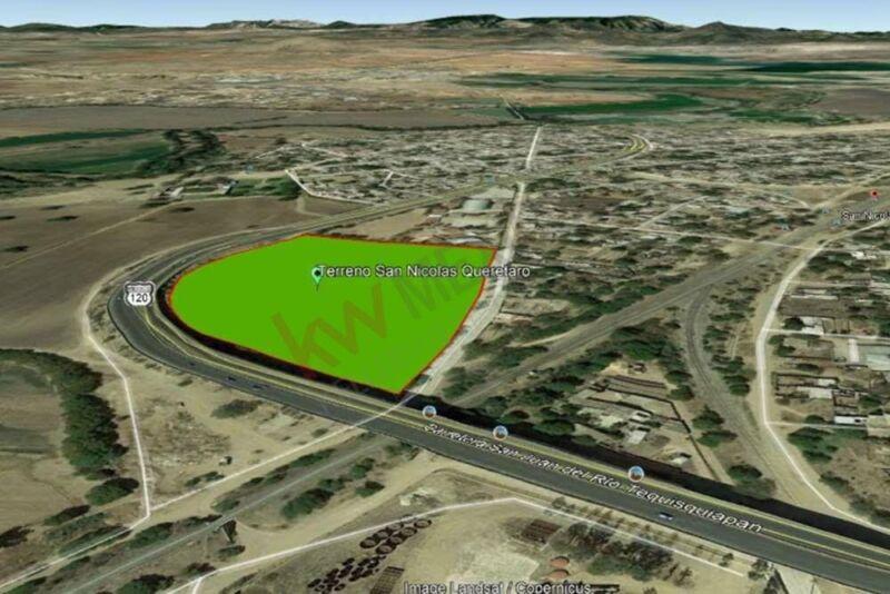 Terreno para desarrollar a 7 km del centro de Tequisquiapan