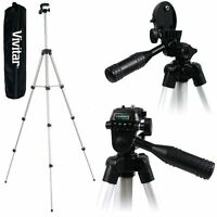 50 Lightweight Vivitar Tripod With Case For Canon Vixia Hf R32