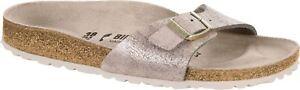 Birkenstock-Madrid-1008698-Damen-washed-Metallic-Rose-Gold-Weite-schmal