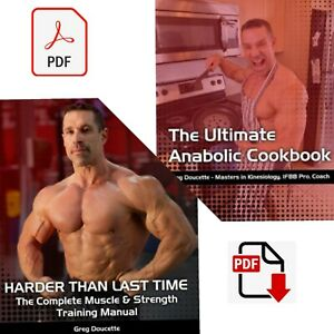Harder than last time and anabolic cookbook by Greg ...