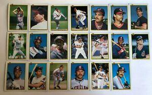 1990-CLEVELAND-INDIANS-Bowman-COMPLETE-Baseball-Team-SET-20-Cards-ALOMAR-BELLE