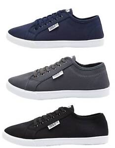 Mens-Henleys-Canvas-Trainers-New-Summer-Lightweight-Lace-Up-Plimsolls-Footwear