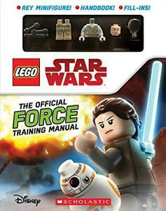 The-Official-Force-Training-Manual-LEGO-Star-Wars-by-Scholastic-NEW-Book-FR