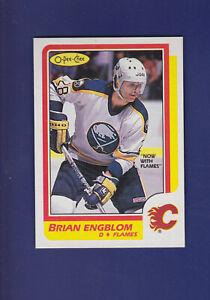 Brian-Engblom-1986-87-O-PEE-CHEE-Hockey-40-MINT-Calgary-Flames