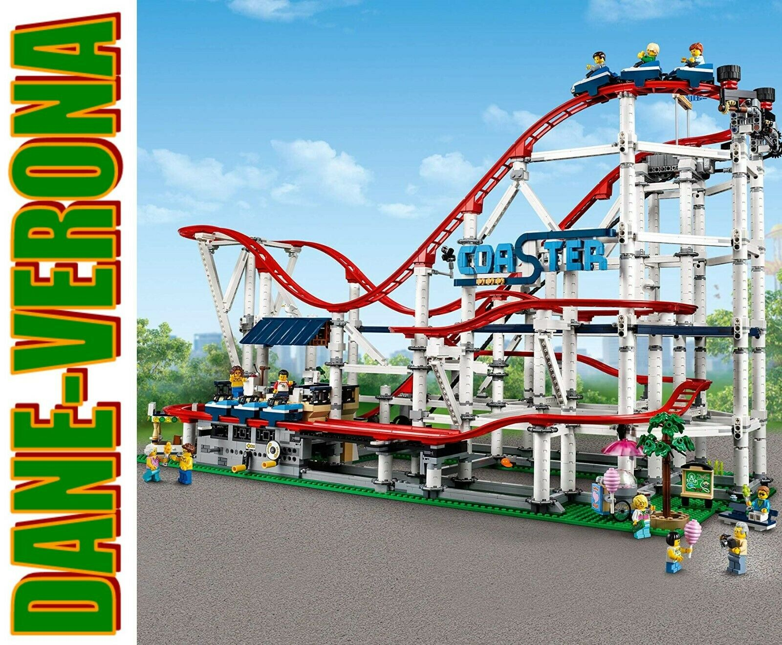 Lego  Montagne Russe  Roller Coaster 10261 specialeeE COLLEZIONISTI