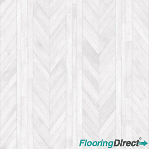 Thick Heavy Duty Oak Chevron Parquet Non Slip 2 3 4 Vinyl Flooring