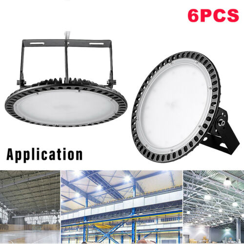 LED High Bay Light Warehouse Factory Industrial Commercial Workshop Lamp AC 220V