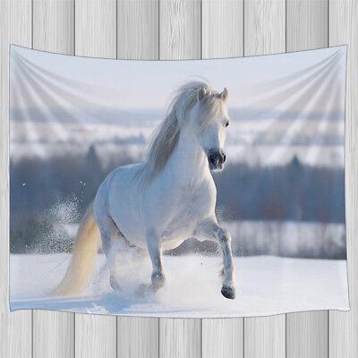 Six horses run Tapestry Wall Hanging for Living Room Bedroom Dorm Decor