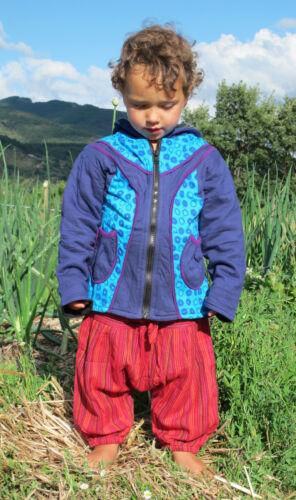 psy hippie Childrens Jacket baby Festival coat Pixie Elf Fairy hoodie.. boho