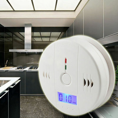 1 X PC LCD CO Carbon Monoxide Poisoning Sensor Alarm Warning Detector Tester NE