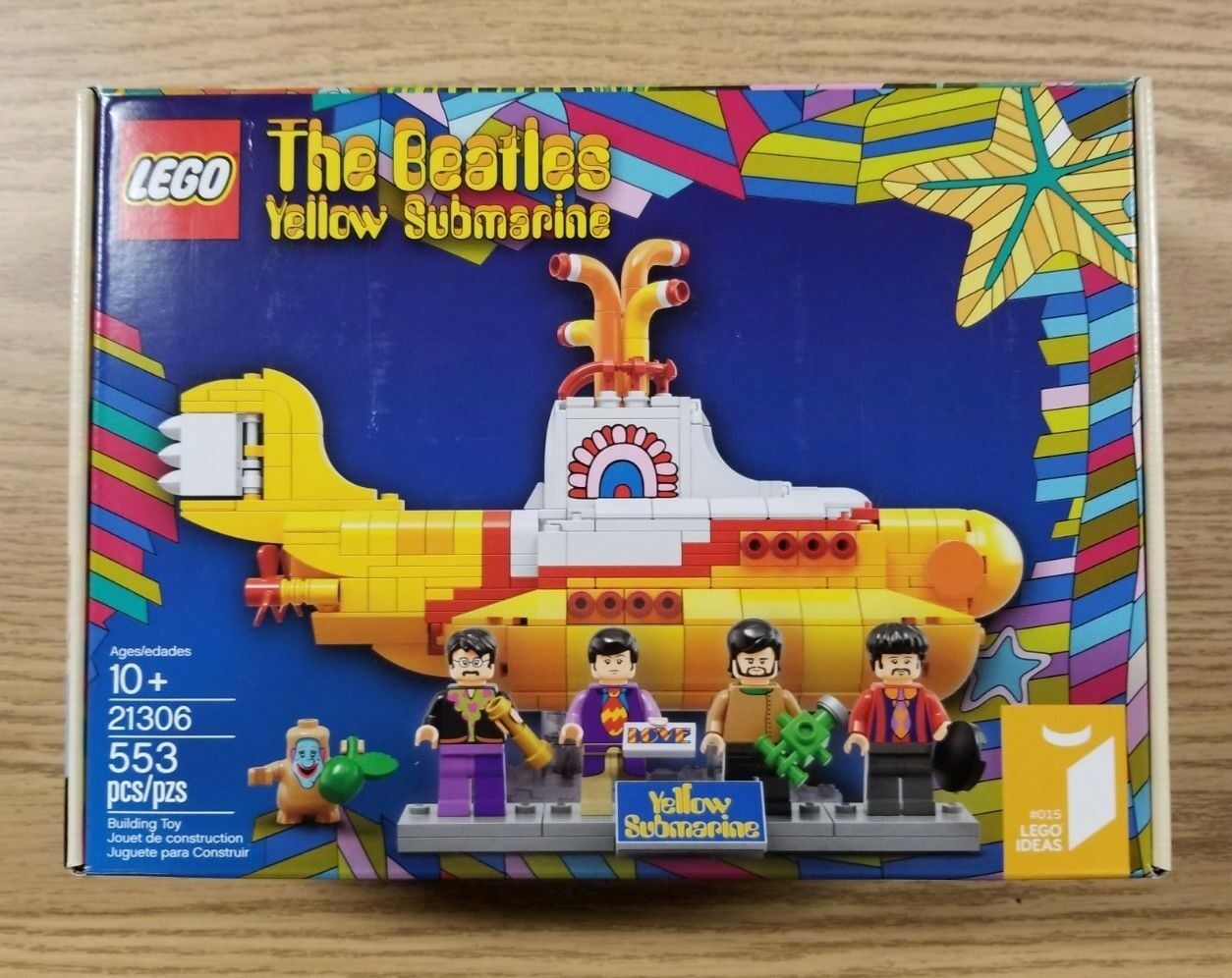 LEGO Ideas Gelb Submarine (21306) The Beatles Brand New In Box W/ Minifigures