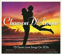 CHANSON D'AMOUR - 75 CLASSIC LOVE SONGS - 3 CD BOX SET