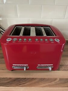 Sage By HESTON The Smart Toast 4 Slice Toaster - Red