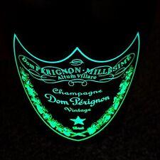 DOM PERIGNON Luminous Label LED 1,5l MAGNUM Flasche Leer Deko Champagner Shisha